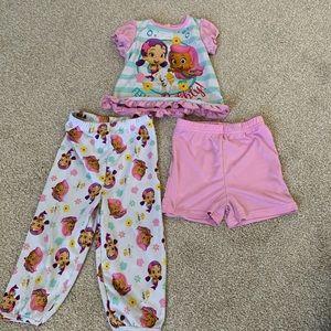 Bubble Guppies Pajamas